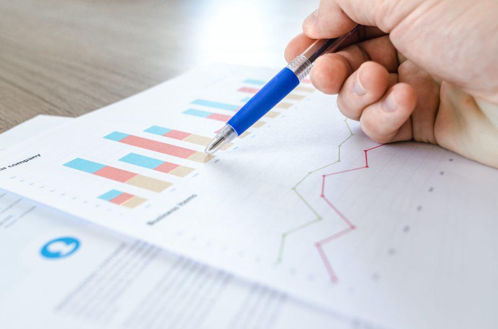 Growing graph on sheet